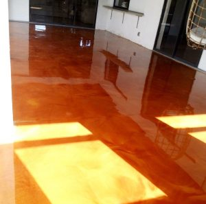 metallic epoxy in flooring tampa fl
